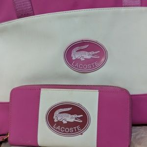 Lacoste Purse and Wallet
